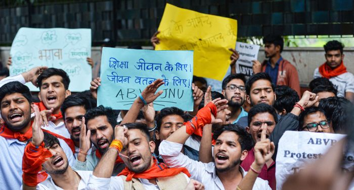 abvp-protest